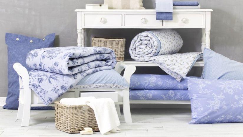 Vaste choix de draps bleus
