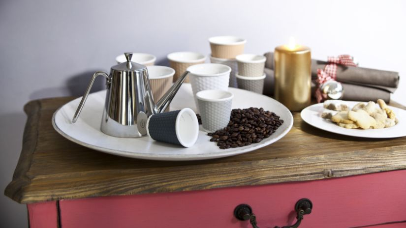 Collection de tasses design