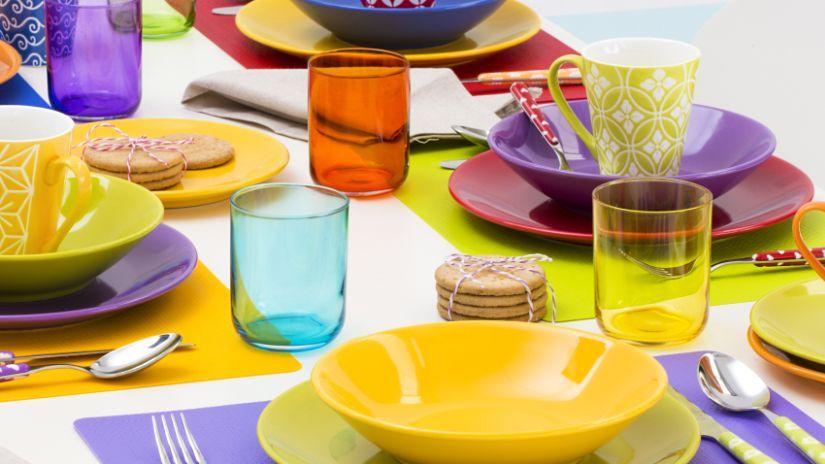 Gobelet en verre de couleur
