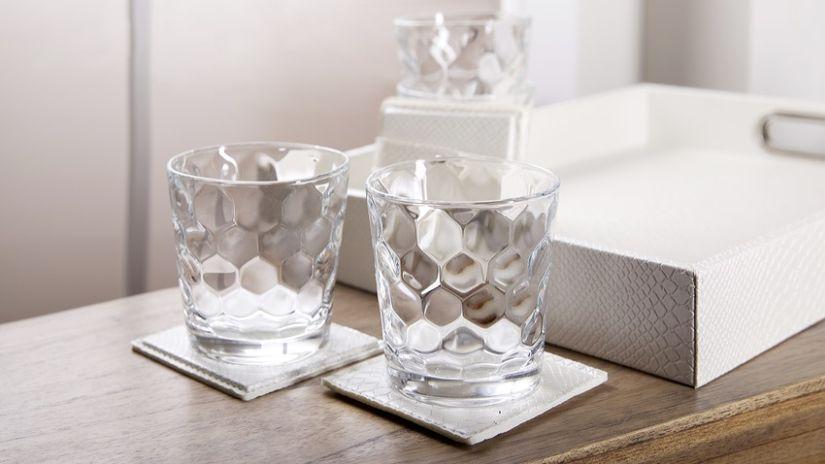 Gobelet en verre design