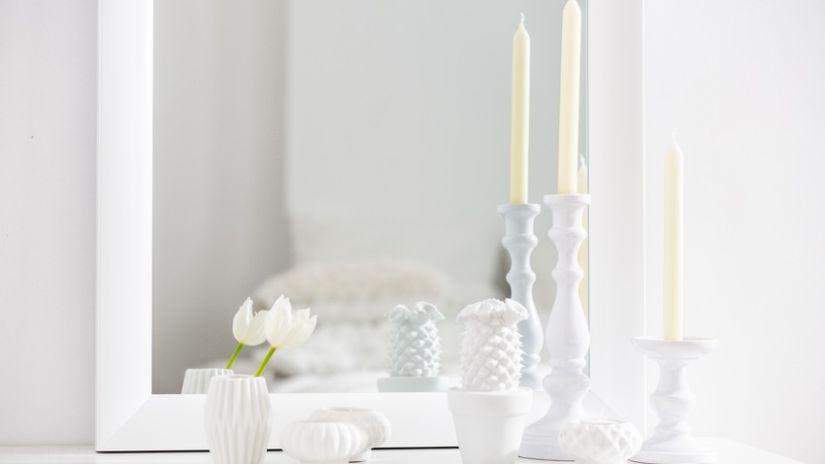 bougeoir blanc ventes priv es westwing. Black Bedroom Furniture Sets. Home Design Ideas