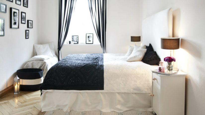 Rideaux design pour la chambre