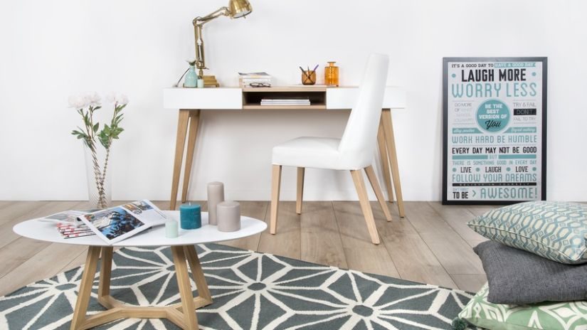 Trouvez votre tapis scandinave westwing for Bureau cocooning