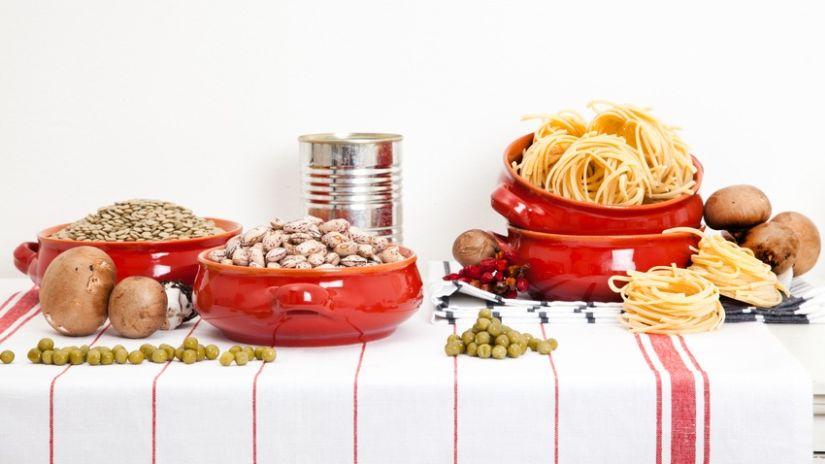 Torchon de cuisine blanc à rayures rouges