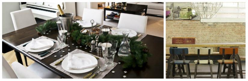 sedie per la sala da pranzo tavolo in legno