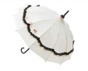 porta ombrelli bianco