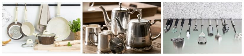 Utensili da cucina praticit ai fornelli dalani e ora for Kit utensili da cucina