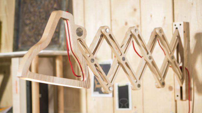 Westwing lampade da parete moderne flair contemporaneo for Applique da parete legno