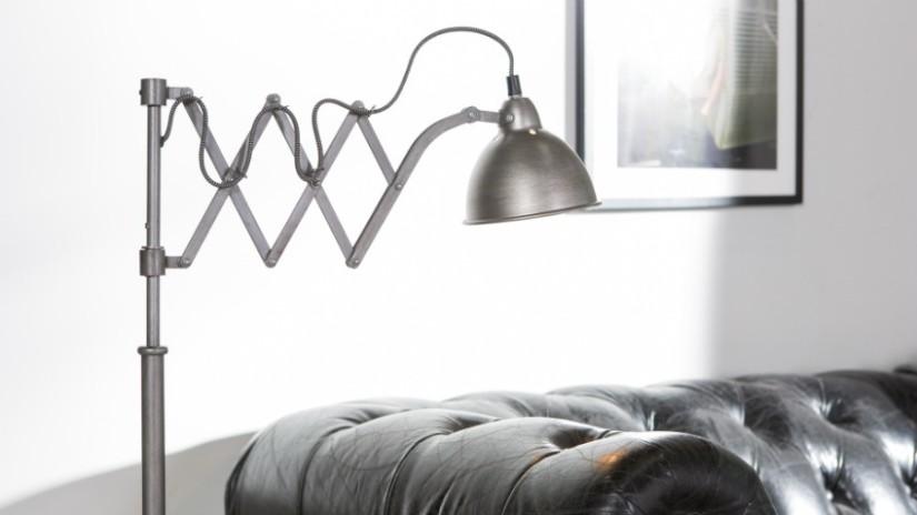 luce led moderna in metallo