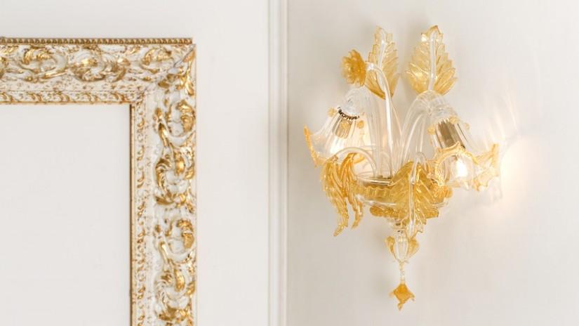 Applique illuminazione a parete di design dalani e ora - Applique per camera da letto ...