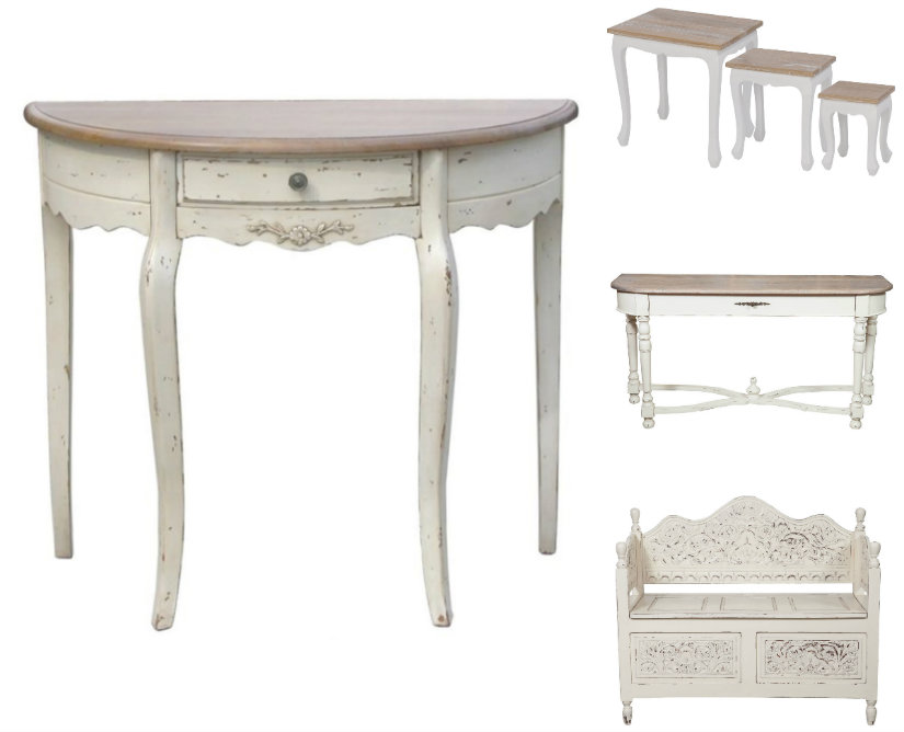 Mobili shabby chic dolce romanticismo in casa dalani e for Arredamento country chic ikea