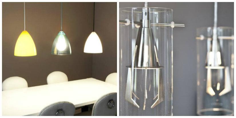 lampade a sospensione in vetro