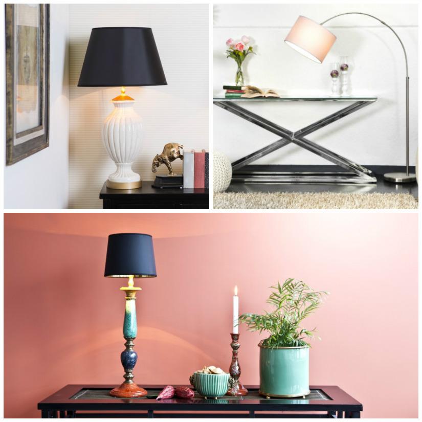 paralumi per lampade da tavolo e piantane