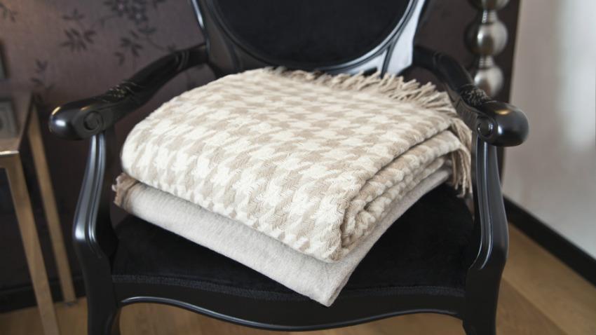coperte di lana plaid