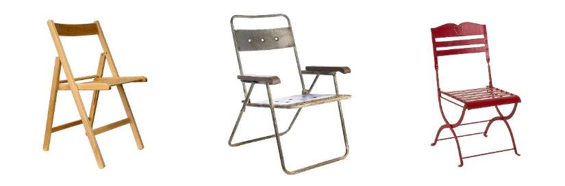 sedie pieghevoli