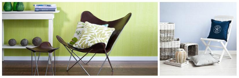 sedie pieghevoli cuscini
