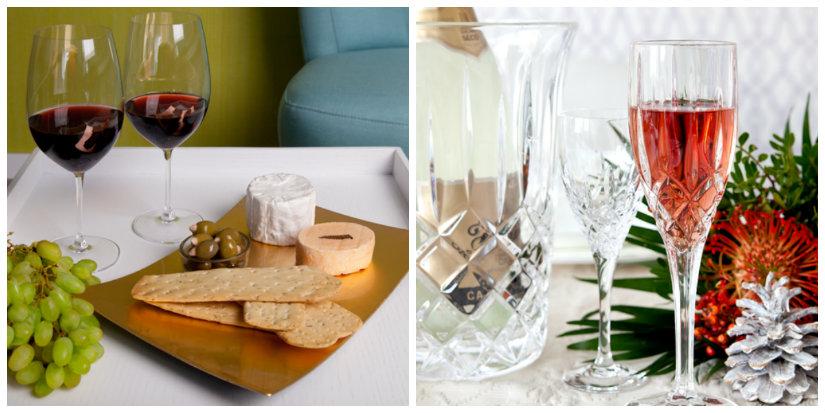 Bicchieri da vino per un brindisi con stile dalani e - Disposizione bicchieri in tavola ...