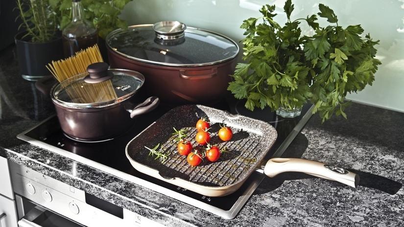 bistecchiera cucina bistecchiera in ghisa piastra pentola verdure