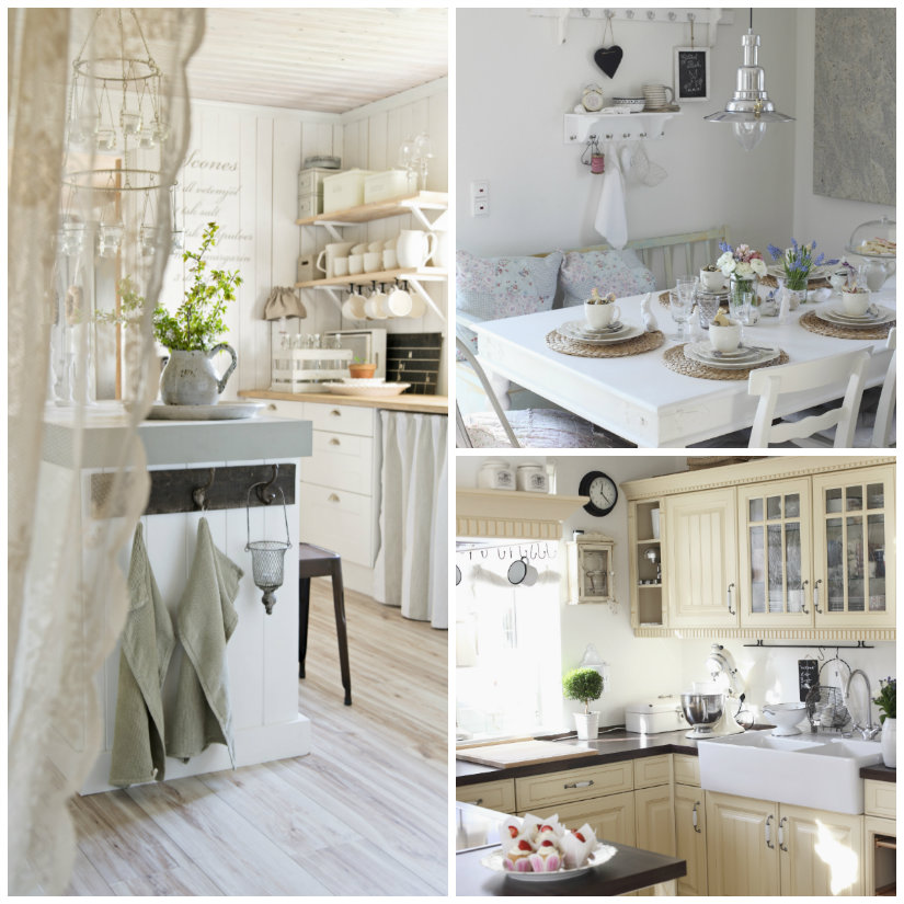 cucine shabby chic cucine country chic