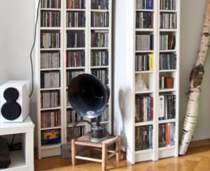 Porta cd tante idee e consigli fai da te dalani e ora westwing - Scaffali porta cd ...