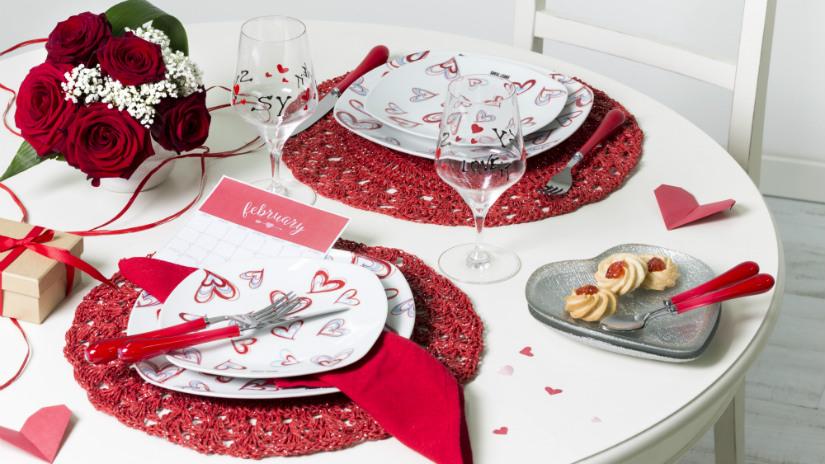Regali per san valentino idee e consigli romantici dalani e ora westwing - Decorazioni tavola san valentino ...