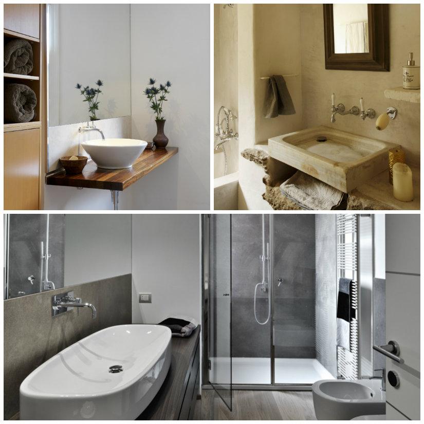 Idee e consigli per arredare un bagno piccolo dalani e - Bagno piccolo con doccia ...