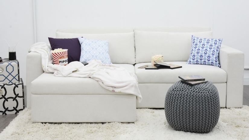 Divano letto angolare comodit in casa dalani e ora - Divano letto angolare divani e divani ...