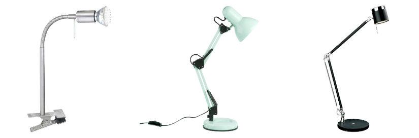 lampade da scrivania vintage