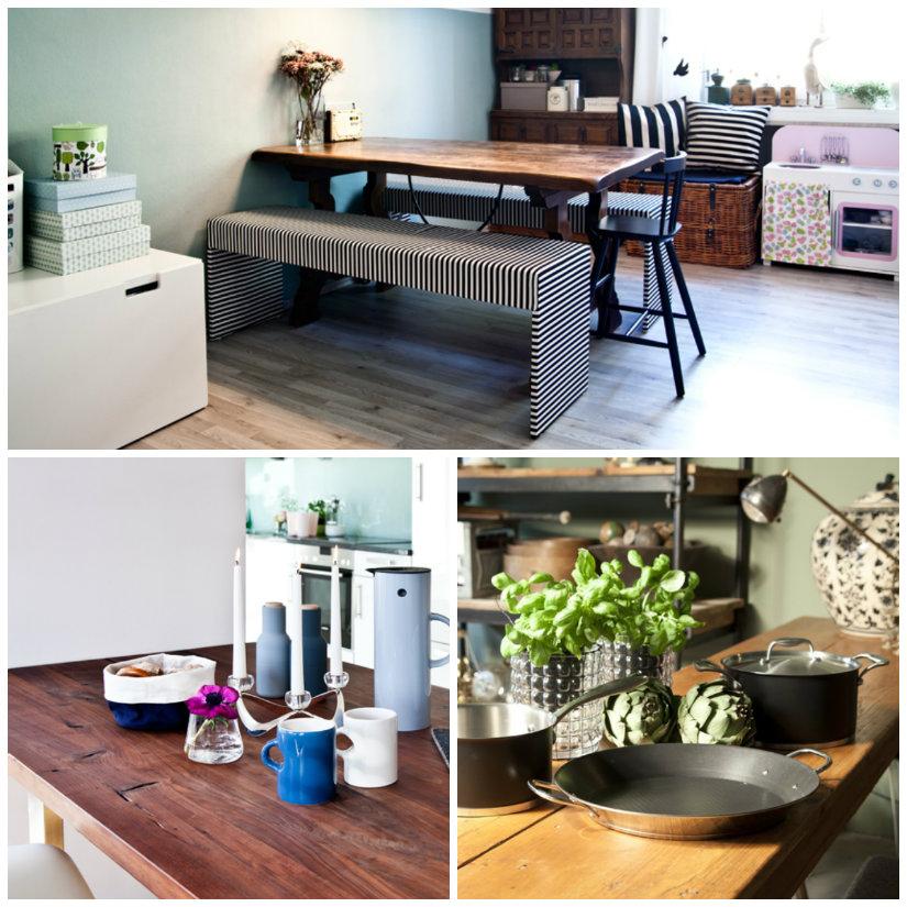 tavoli in legno stretti da cucina