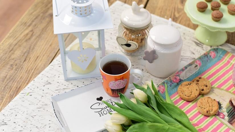 formine per biscotti vassoio tazza fiori