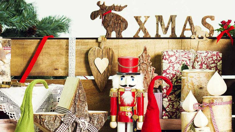 calza della befana decorazioni natalizie renne