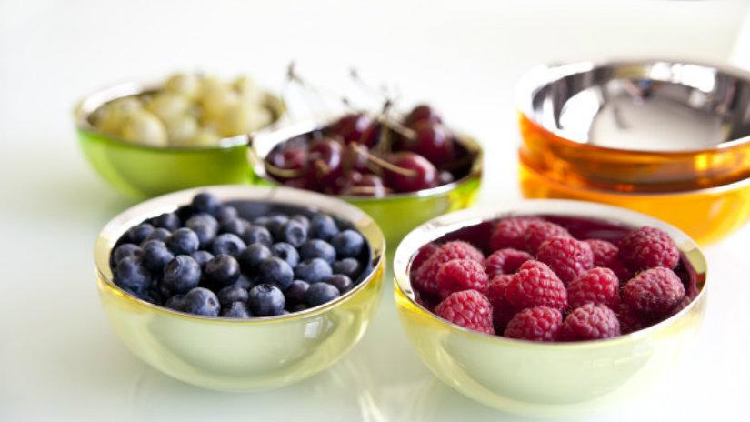 gelatiera ciotole frutta
