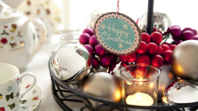 idee natalizie centrotavola elegante