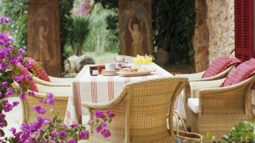 idee per il giardino salotto
