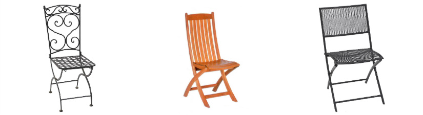 sedie da giardino classiche