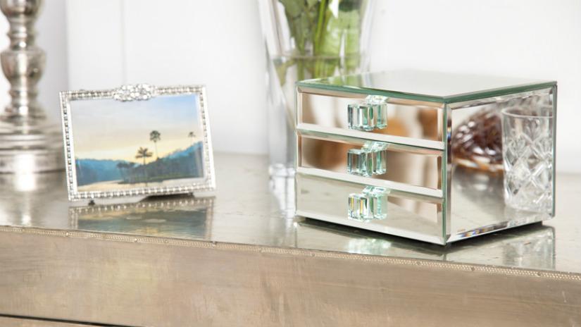 portafoto in argento portagioie
