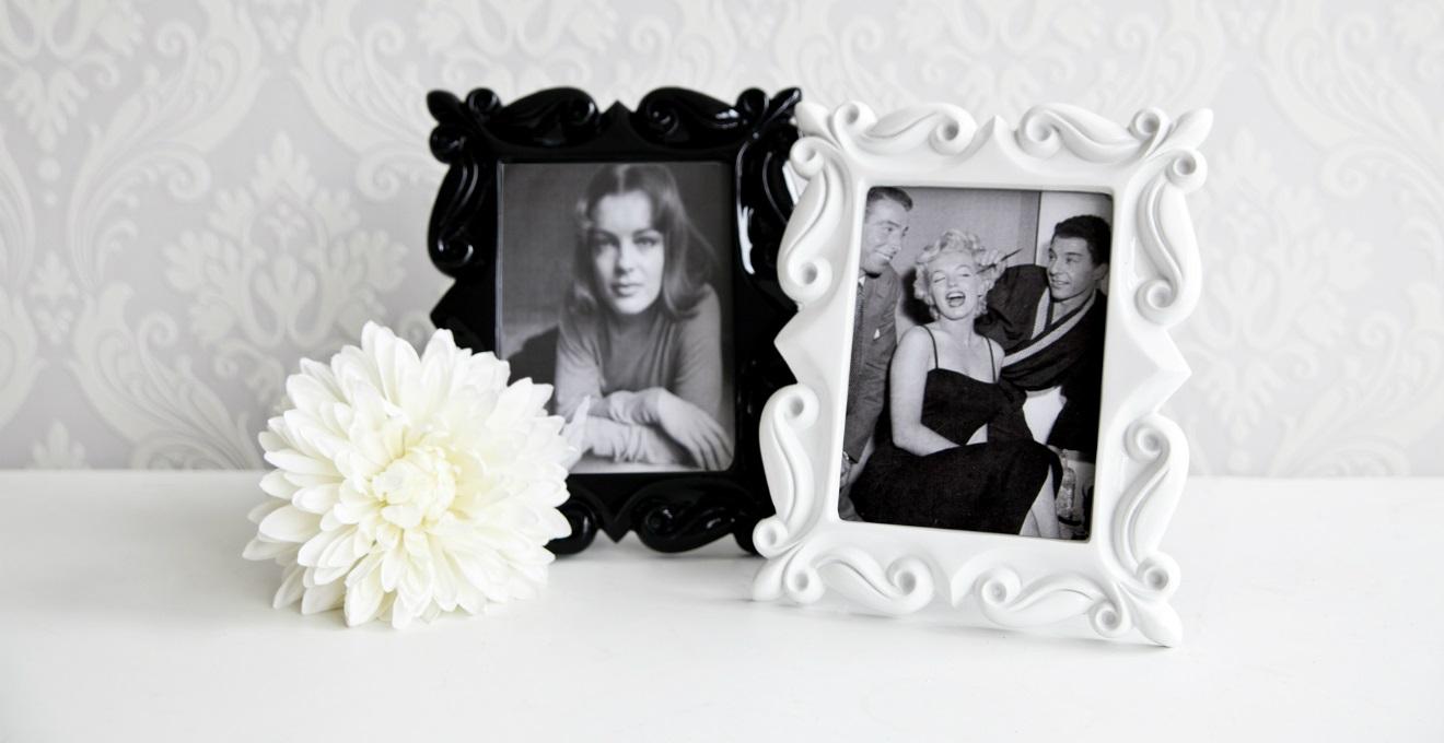 Portafoto in ceramica