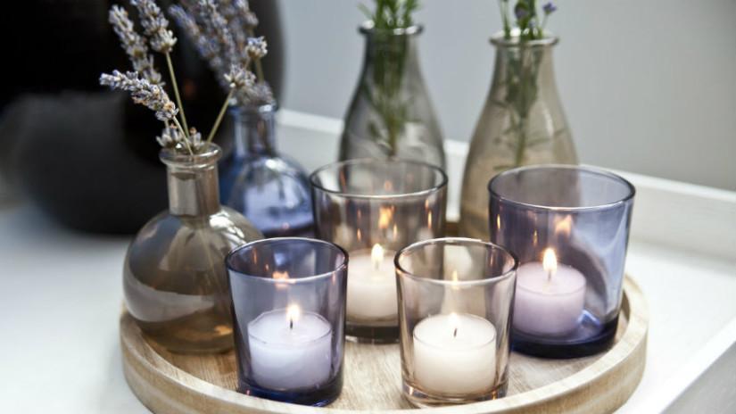 casa romantica candele