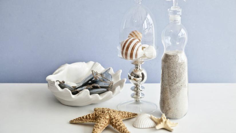 centrotavola in ceramica stile marittimo