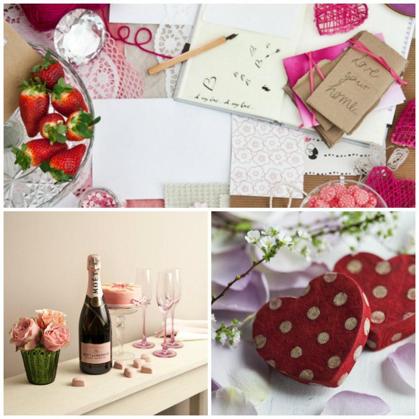 idee romantiche per san valentino cuori fragole vino dono regali