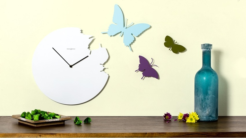 orologi da parete moderni bottiglia vetro