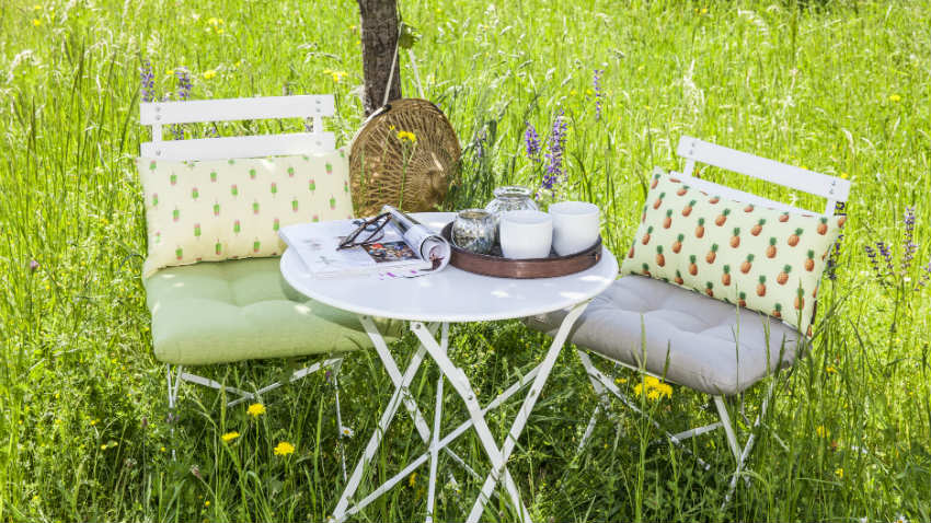 sedie da giardino in plastica