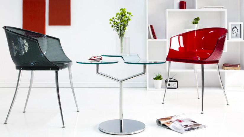 Sedie di plastica praticit indoor e outdoor dalani e for Sedie plastica moderne