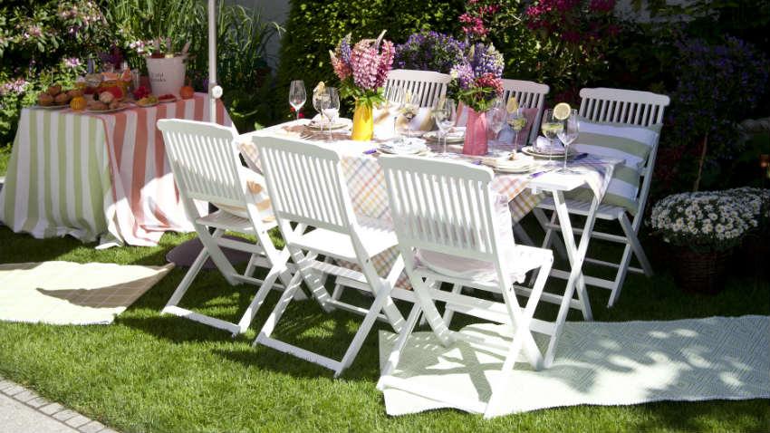 sedie di plastica per giardino