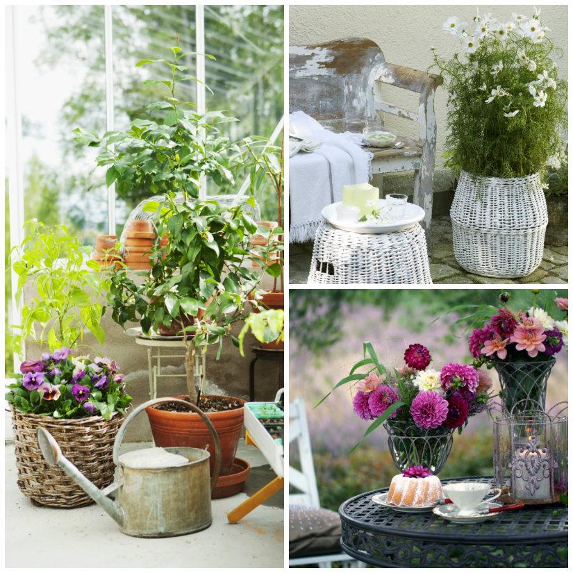 Vasi da giardino per un ambiente sempre chic westwing - Porta piante da esterno ...