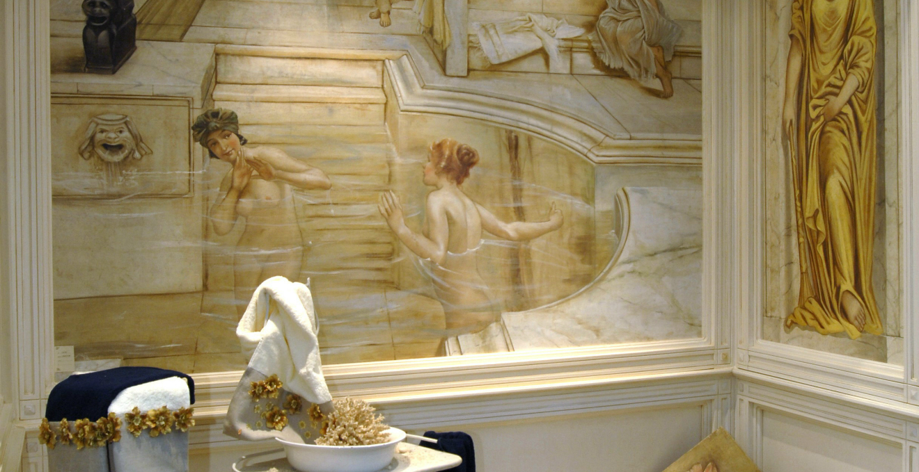 Mariani affreschi l 39 arte in casa westwing dalani e ora westwing - Ragazze al bagno ...