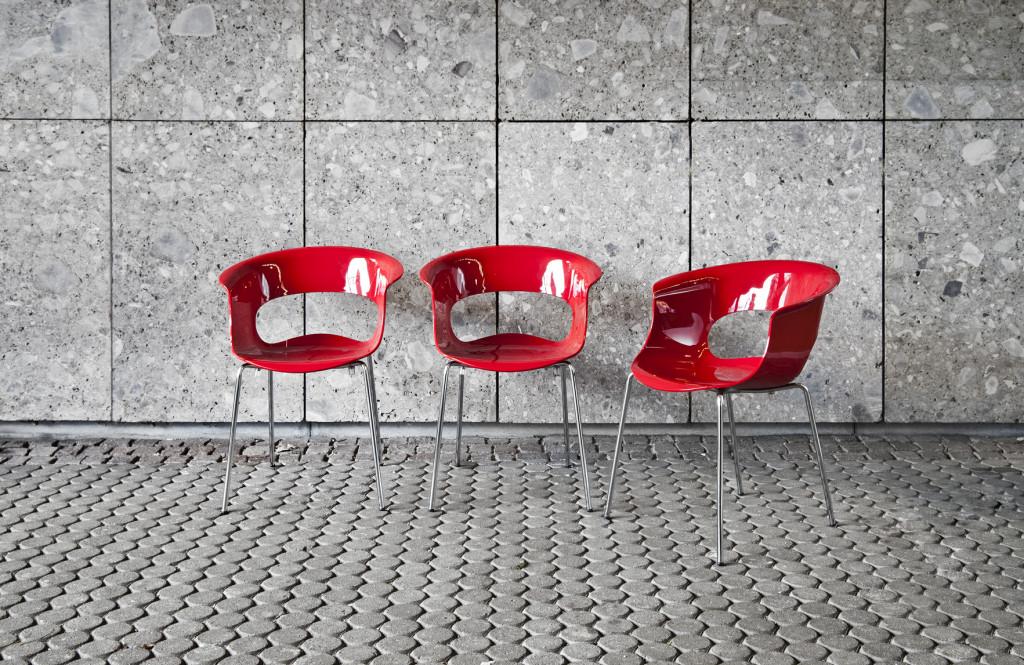 sedie rosse