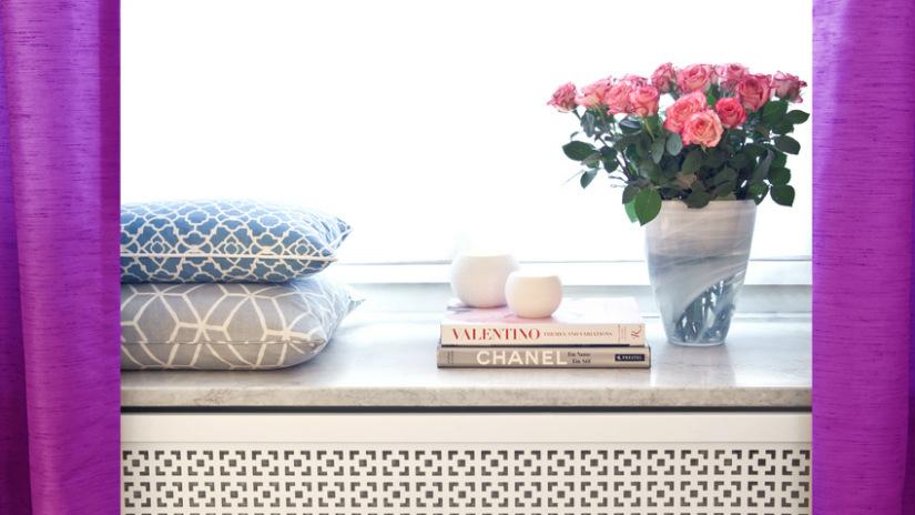 tende a fiori vaso in vetro cucino