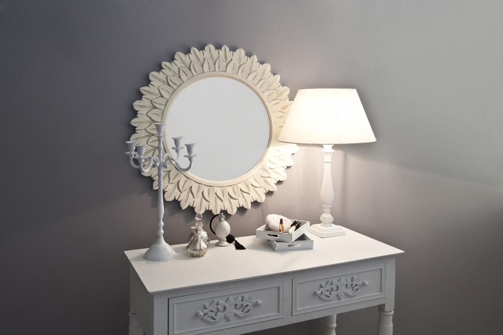 dalani | specchio bianco: fascino e classe - Specchi Rotondi Per Bagno
