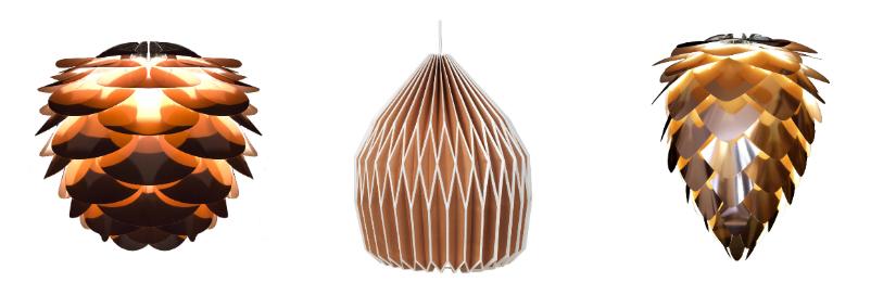 arredare un monolocale con lampade sospese